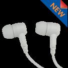 SnapLock White Covert Dual Earbud Earpiece