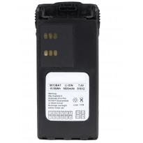 Motorola HT750, HT1250 & PR860 - Li-ion 1800mAh Battery with Belt Clip #3 (9013MBAT)