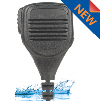 Heavy Duty, IP67 Water & Dust Proof, Speaker Microphone with Longer Cable (SM6WL)