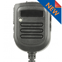 Heavy Duty, Rechargeable Battery Powered, IP55 speaker mic, 3.5mm jack, LED & high low volume (SM7-Sonim)