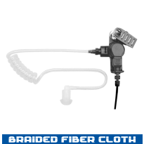 Acoustic Tube - Braided Fiber Cloth - 1 Wire (AT+1W)