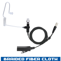 Acoustic Tube - Braided Fiber - 2 Wire Hirose (AT+2W-HIROSE)