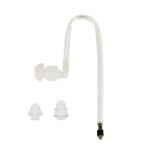 Surgical Grade Straight Acoustic Tube - Clear
