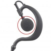 Package of 10 Small earpiece Sponge - Ear Hook, EarBud