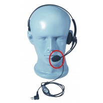 Lightweight Headset Microphone Foam - Medium