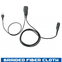 SnapLock 1 Wire Braided Fiber PTT Base - 2 Lines Out Bottom of PTT (SL+1WB)