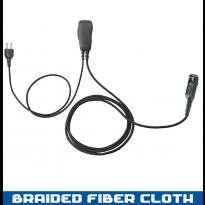 SnapLock 1 Wire Braided Fiber PTT Base - 2 Lines Out Bottom of PTT (SL+1WB)
