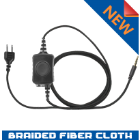 SnapLock 1 Wire Braided Fiber with large square PTT (SL+1WLPTT)