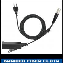 SnapLock Base - Braided Fiber - 2 Wire Hirose (SL+2W-HIROSE)