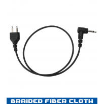 SnapLock - Receive Only Straight - Braided Fiber - 12in,  3.5mm (SL+ROS30-3.5)