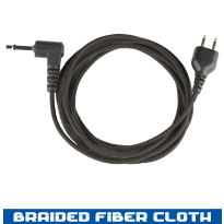 Snap Lock - Receive Only Straight - Braided Fiber - 48 in,  2.5mm (SL+ROS120-2.5)