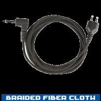 SnapLock - Receive Only Straight - Braided Fiber  - 35in,  3.5mm (SL+ROS90-3.5)