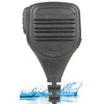 Compact Size, Heavy Duty IP67 water & dust proof Speaker Mic., 3.5mm earpiece port (SM6W)