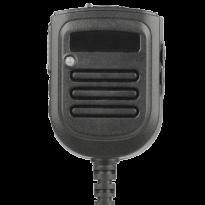 Standard Size, Heavy Duty Rechargeable Battery Powered IP67 dust and waterproof Speaker Mic., 3.5mm earpiece port