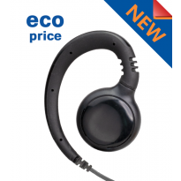 Receive Only (ECO) Swivel earpiece 3.5mm10 inch coil (SWVLROC24-3.5 (ECO))