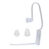 Surgical Grade Acoustic Tube & Ear Tips - Clear